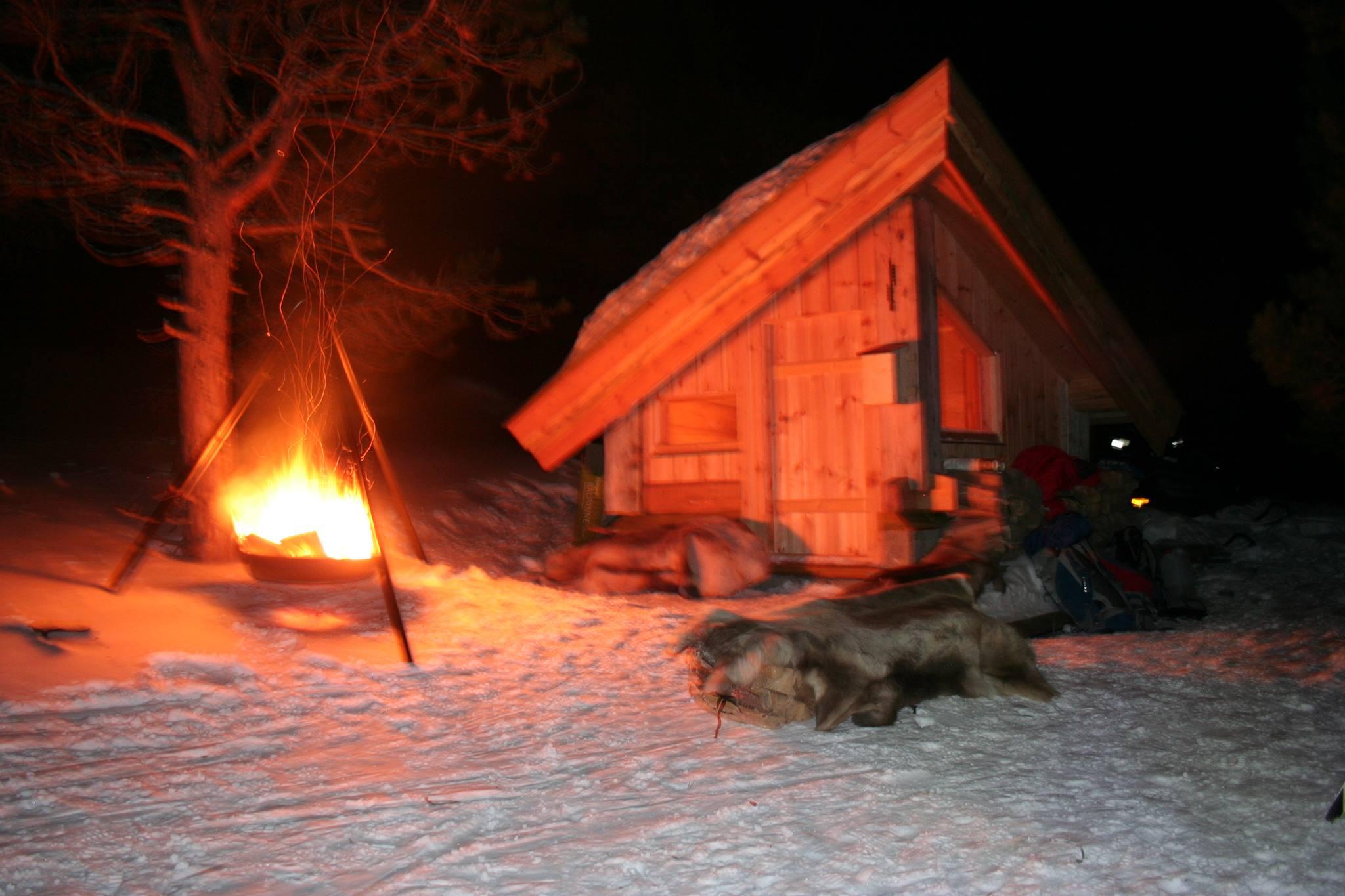 VIKTIG: Gapahuken i Åslia