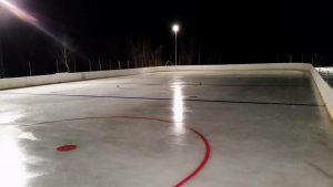 Vil du ha bedriftsnamnet ditt på hockeybana?