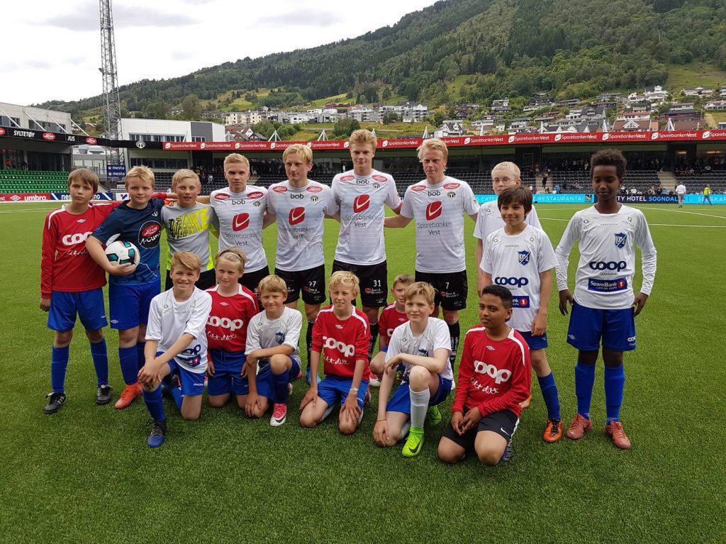 Ballgutar Sogndal-Rosenborg
