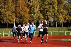 3000 m og motbakkeløp på Lalm
