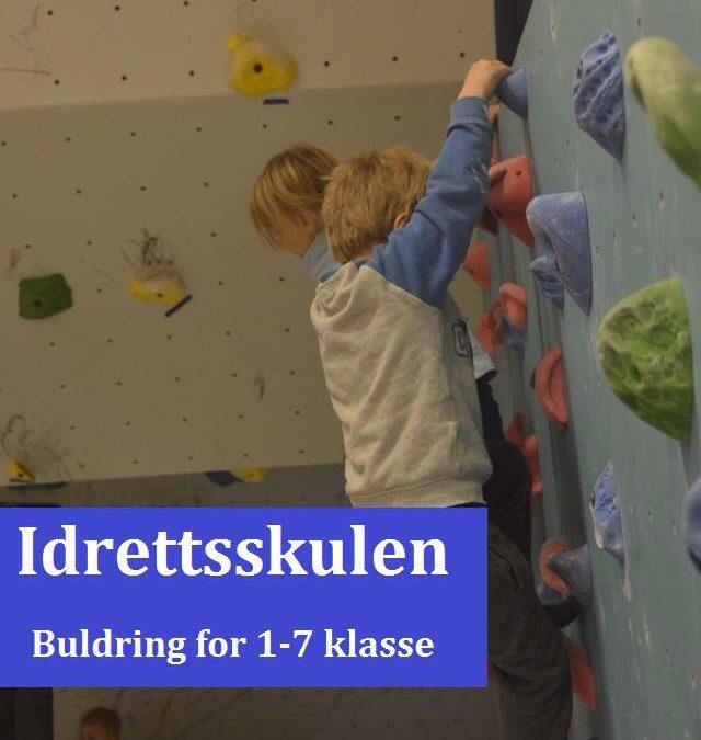 Avlyst: Buldring og klatring i Tronoberget tirsdag 18. september
