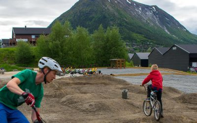Idrettsskulen inviterer til Pumptrack/sykling ved Sport 1